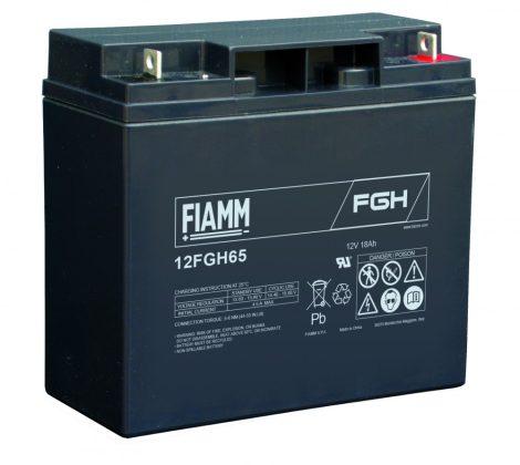 FIAMM 12FGH65 12V 18Ah  Nagy kisütőáramú ipari zárt (zselés) ólomakkumulátor