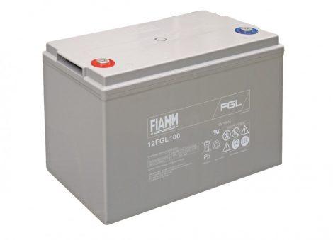 FIAMM 12FGL100 12V 100Ah Ipari zárt (zselés) ólomakkumulátor