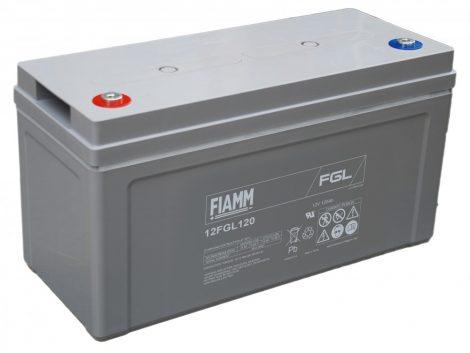 FIAMM 12FGL120 12V 120Ah Ipari zárt (zselés) ólomakkumulátor
