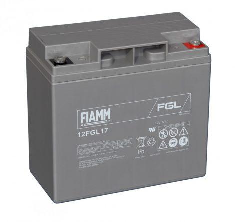 FIAMM 12FGL17 12V 17Ah Ipari zárt (zselés) ólomakkumulátor