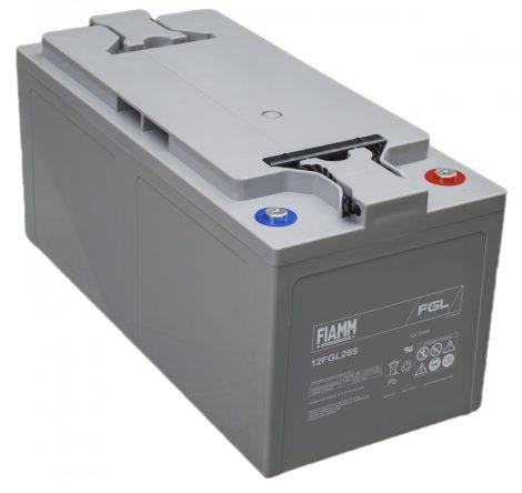 FIAMM 12FGL205 12V 205Ah Ipari zárt (zselés) ólomakkumulátor