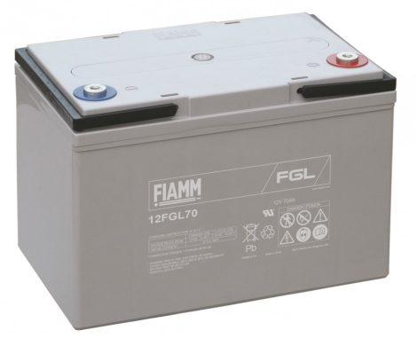 FIAMM 12FGL70 12V 70Ah Ipari zárt (zselés) ólomakkumulátor