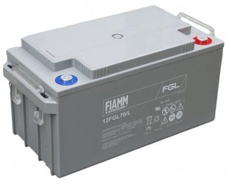 FIAMM 12FGL70L 12V 70Ah Ipari zárt (zselés) ólomakkumulátor