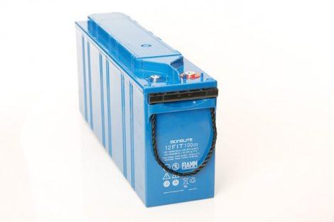 FIAMM 12FIT100/23 12V 100Ah Front terminal ipari zárt (zselés) ólomakkumulátor