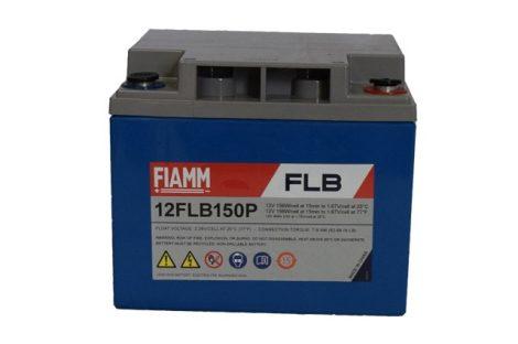FIAMM 12FLB150P 12V 40Ah Nagy kisütőáramú tűzálló ipari zárt (zselés) ólomakkumulátor