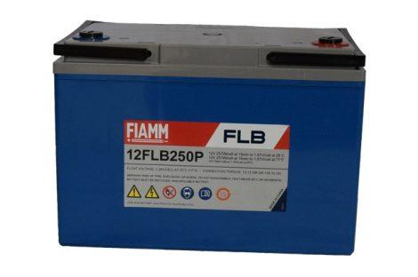 FIAMM 12FLB250P 12V 70Ah Nagy kisütőáramú ipari zárt (zselés) ólomakkumulátor