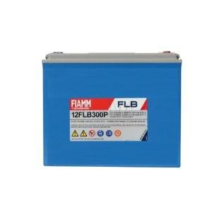 FIAMM 12FLB300P 12V 80Ah Nagy kisütőáramú tűzálló ipari zárt (zselés) ólomakkumulátor