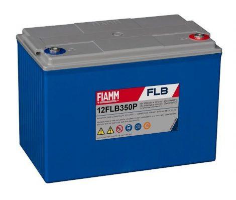 FIAMM 12FLB350P 12V 95Ah Nagy kisütőáramú tűzálló ipari zárt (zselés) ólomakkumulátor