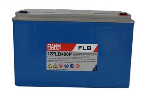 FIAMM 12FLB400P 12V 105Ah Nagy kisütőáramú tűzálló ipari zárt (zselés) ólomakkumulátor