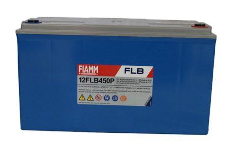 FIAMM 12FLB450P 12V 120Ah Nagy kisütőáramú tűzálló ipari zárt (zselés) ólomakkumulátor