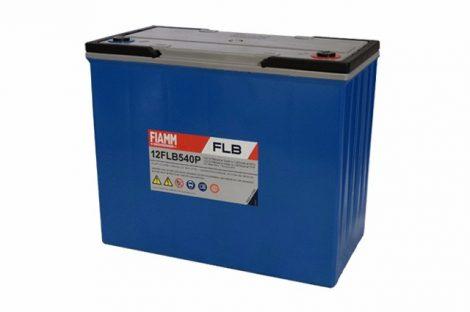 FIAMM 12FLB540P 12V 150Ah Nagy kisütőáramú tűzálló ipari zárt (zselés) ólomakkumulátor