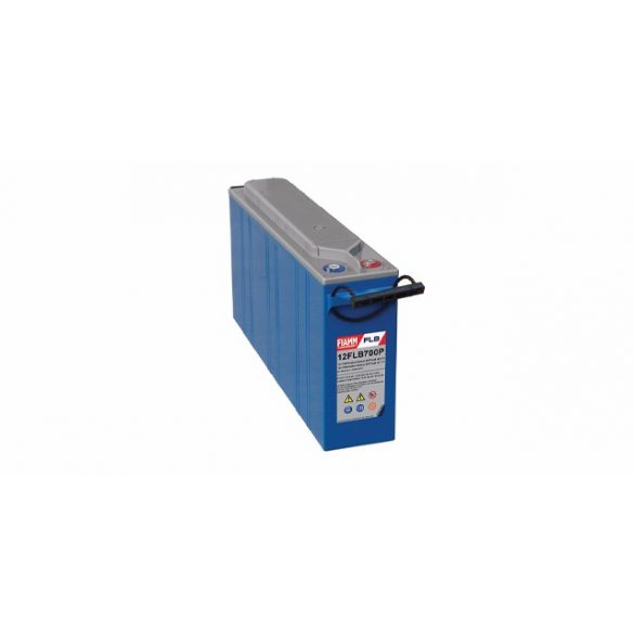 FIAMM 12FLB800P 12V 200Ah Nagy kisütőáramú tűzálló ipari zárt (zselés) ólomakkumulátor