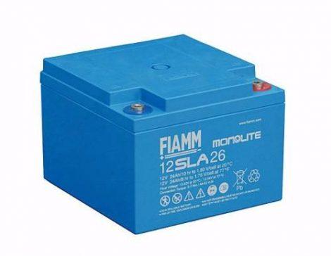 FIAMM 12SLA26 12V 24Ah ipari zárt (zselés) ólomakkumulátor