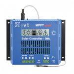 IVT MPPTplus-30A 12V / 24V napelemes töltésvezérlő