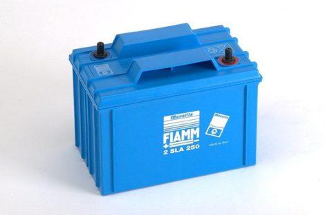 FIAMM 2SLA250 2V 250Ah  Tűzálló ipari zárt (zselés) ólomakkumulátor