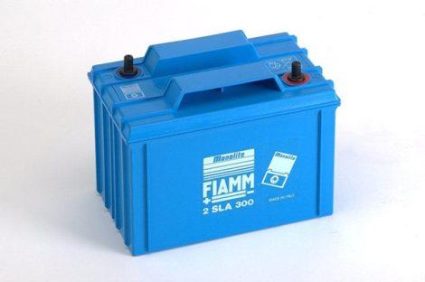 FIAMM 2SLA300 2V 300Ah  Tűzálló ipari zárt (zselés) ólomakkumulátor