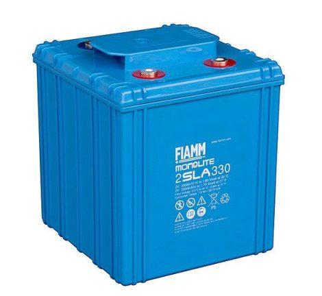 FIAMM 2SLA330 2V 330Ah ipari zárt (zselés) ólomakkumulátor