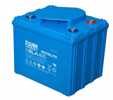 FIAMM 2SLA405 2V 405Ah  Tűzálló ipari zárt (zselés) ólomakkumulátor