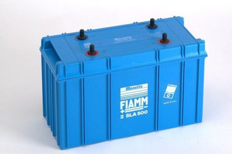 FIAMM 2SLA500 2V 500Ah ipari zárt (zselés) ólomakkumulátor