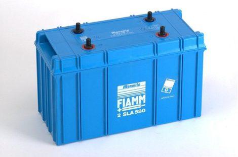 FIAMM 2SLA580 2V 580Ah ipari zárt (zselés) ólomakkumulátor