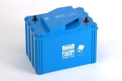 FIAMM 6SLA160 6V 160Ah ipari zárt (zselés) ólomakkumulátor