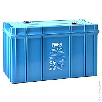 FIAMM 6SLA180 6V 180Ah ipari zárt (zselés) ólomakkumulátor