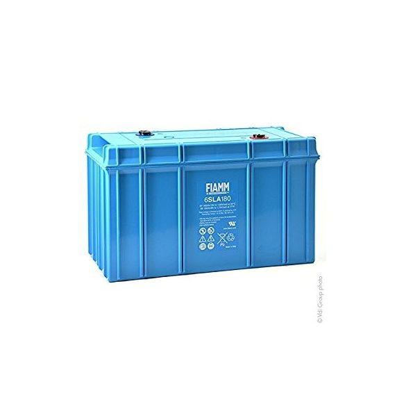 FIAMM 6SLA180 6V 180Ah  Tűzálló ipari zárt (zselés) ólomakkumulátor