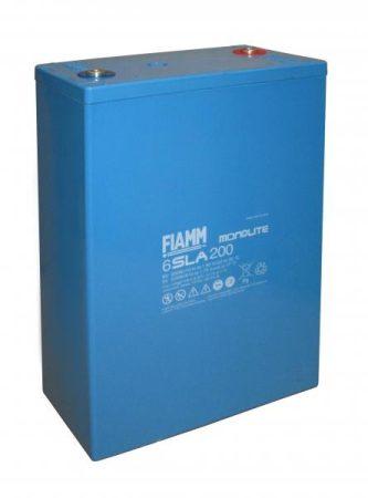 FIAMM 6SLA200 6V 200Ah ipari zárt (zselés) ólomakkumulátor