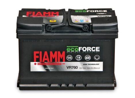 FIAMM ECOFORCE AGM 70Ah 760A START-STOP indítóakkumulátor