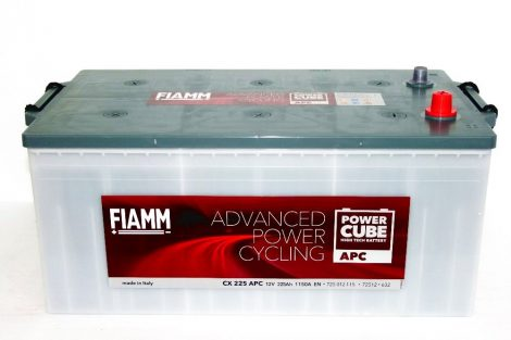 FIAMM POWERCUBE APC CX 225 APC 225Ah 1150A  teherautó / munka akkumulátor