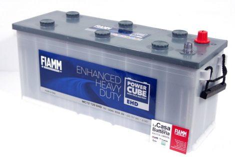 FIAMM POWERCUBE EHD MC12 120 EHD 120Ah 850A  teherautó / munka akkumulátor