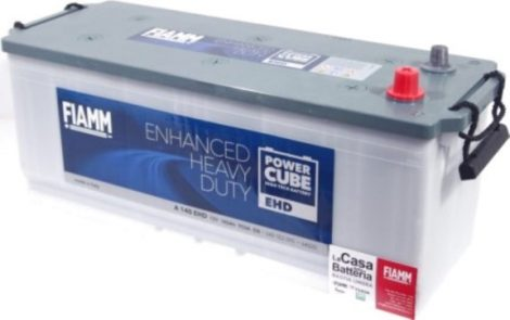 FIAMM POWERCUBE EHD A 140 EHD 140Ah 950A  teherautó / munka akkumulátor