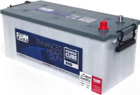FIAMM POWERCUBE EHD B 180 EHD 180Ah 1100A  teherautó / munka akkumulátor