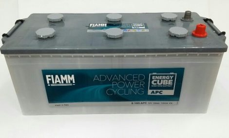 FIAMM ENERGYCUBE APC CX 220 APC 220Ah 1100A  teherautó / munka akkumulátor