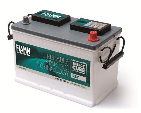 FIAMM ENERGYCUBE RST G28 100 RST 100Ah 720A  teherautó / munka akkumulátor