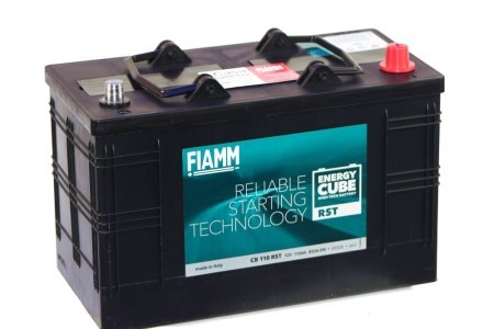 FIAMM ENERGYCUBE RST CB 110 RST 110Ah 850A  teherautó / munka akkumulátor