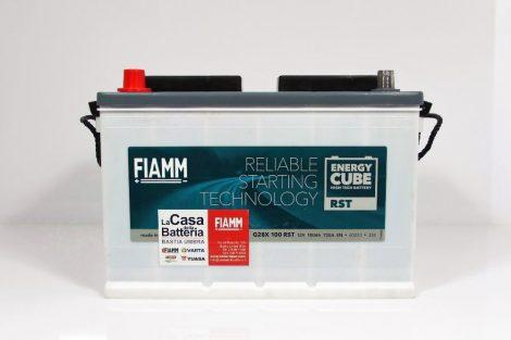 FIAMM ENERGYCUBE RST ATX 100 RSTd 100Ah 600A  teherautó / munka akkumulátor