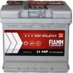 FIAMM TITANIUM PRO 44Ah 390A indítóakkumulátor