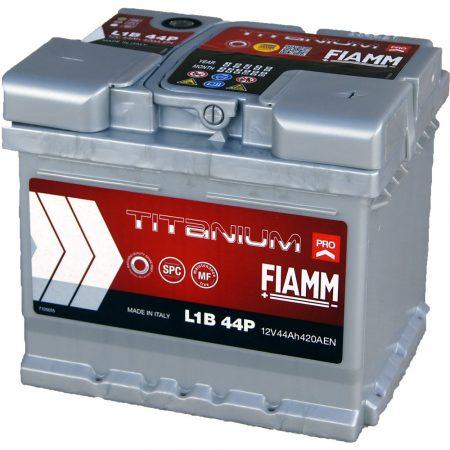 FIAMM TITANIUM PRO 44Ah 420A indítóakkumulátor