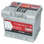 FIAMM TITANIUM PRO 50Ah 520A indítóakkumulátor