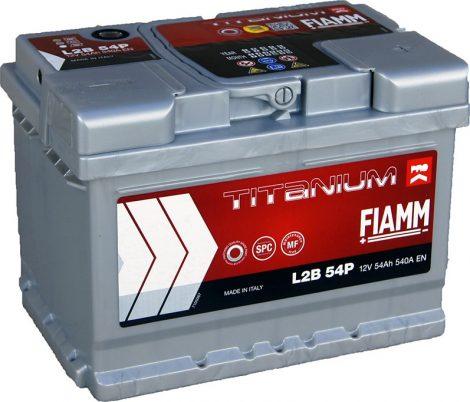 FIAMM TITANIUM PRO 54Ah 540A indítóakkumulátor