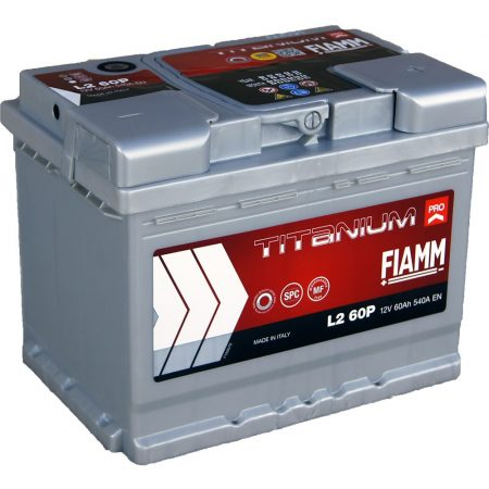 FIAMM TITANIUM PRO 60Ah 540A indítóakkumulátor