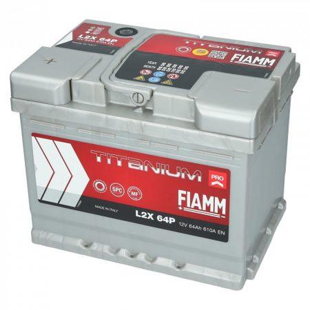 FIAMM TITANIUM PRO 64Ah 610A indítóakkumulátor