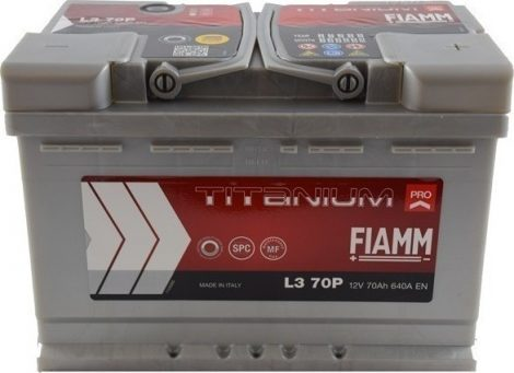 FIAMM TITANIUM PRO 70Ah 640A indítóakkumulátor
