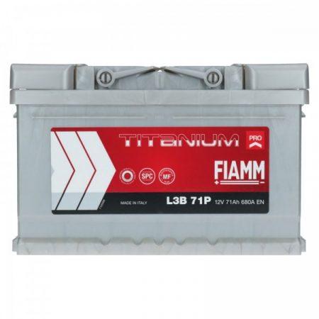 FIAMM TITANIUM PRO 71Ah 680A indítóakkumulátor