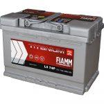 FIAMM TITANIUM PRO 74Ah 680A starter battery