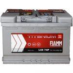 FIAMM TITANIUM PRO 74Ah 680A indítóakkumulátor