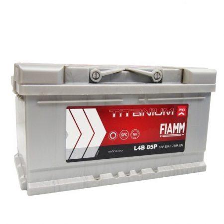 FIAMM TITANIUM PRO 85Ah 760A indítóakkumulátor