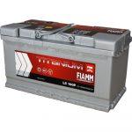 FIAMM TITANIUM PRO 100Ah 870A starter battery