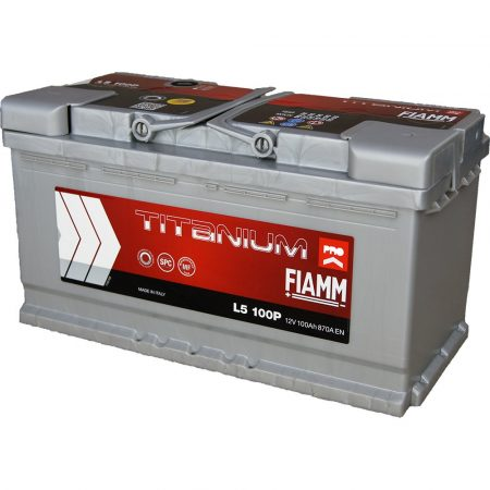 FIAMM TITANIUM PRO 100Ah 870A indítóakkumulátor